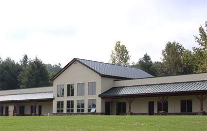 Bermed Lodge @ Floyd EcoVillage