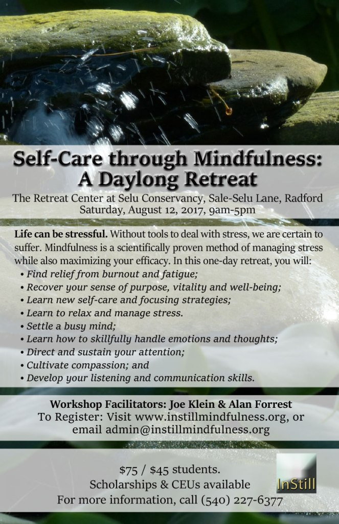 Self-Care through Mindfulness: A Daylong Retreat
