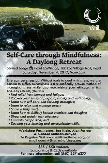 Self-Care through Mindfulness: A Daylong Retreat