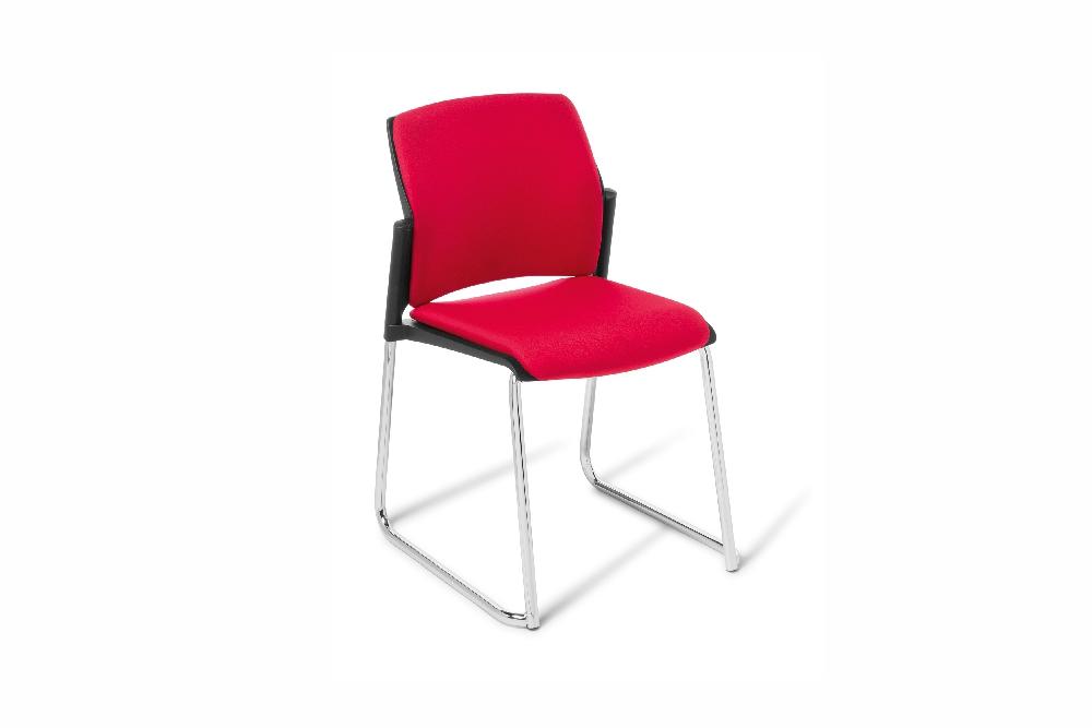 SPRING Sled Based Chair is versatile, robust, and stackable.