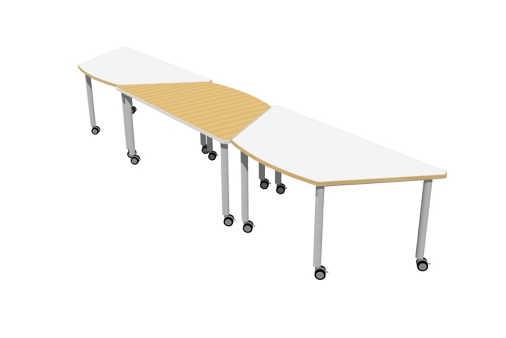 Group T2 TRAINING Tables in a number of inviting configurations.