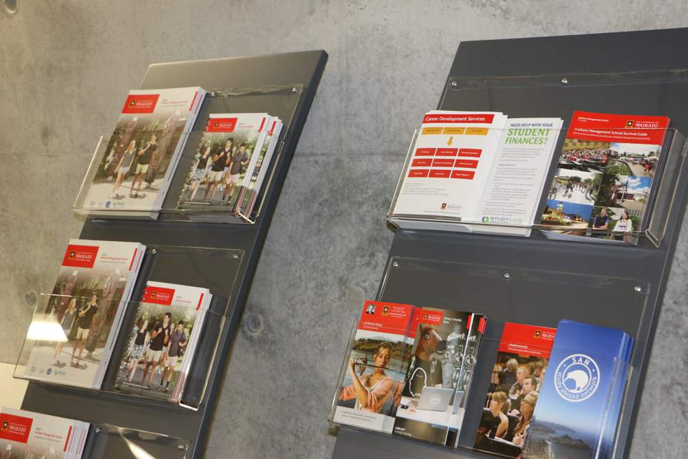 WOW BROCHURE Display Stands present a range of promotional material securely and neatly.