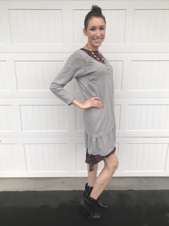 10 ways to wear a LulaRoe Carly dress- casual chic 1