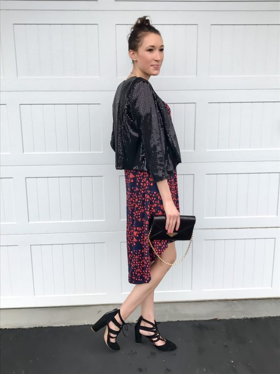 10 ways to wear a LulaRoe Carly dress- dressy 2