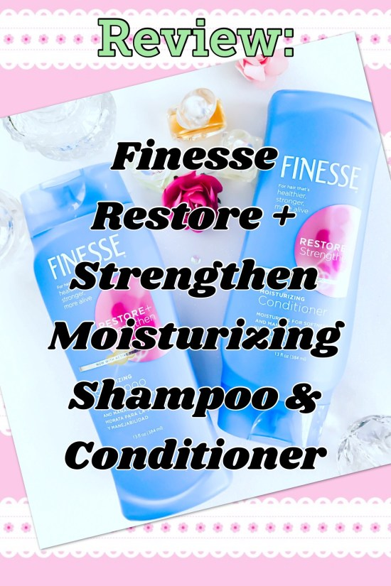 Finesse Restore + Strengthen moisturizing shampoo and conditioner- Kendall Jenner vs. me