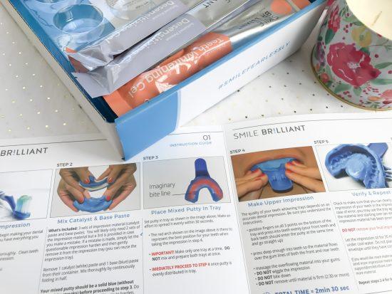 Smile Brilliant- instruction guide