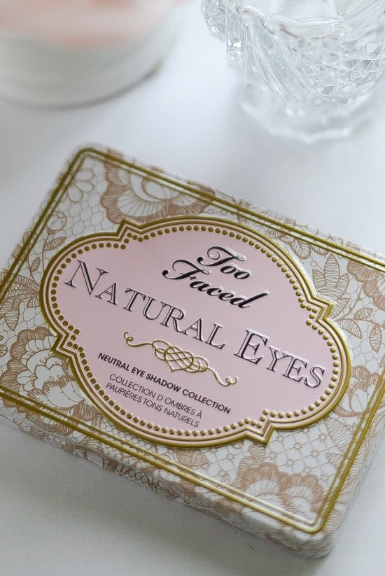 Makeup Products I Could Never Live Without Again- Too Faced Natrual Eyes Palette