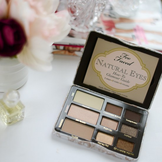 Makeup Products I Could Never Live Without Again- Too Faced Natural Eyes Palette