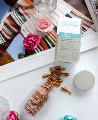 skincare, exuviance, anti-aging, beauty