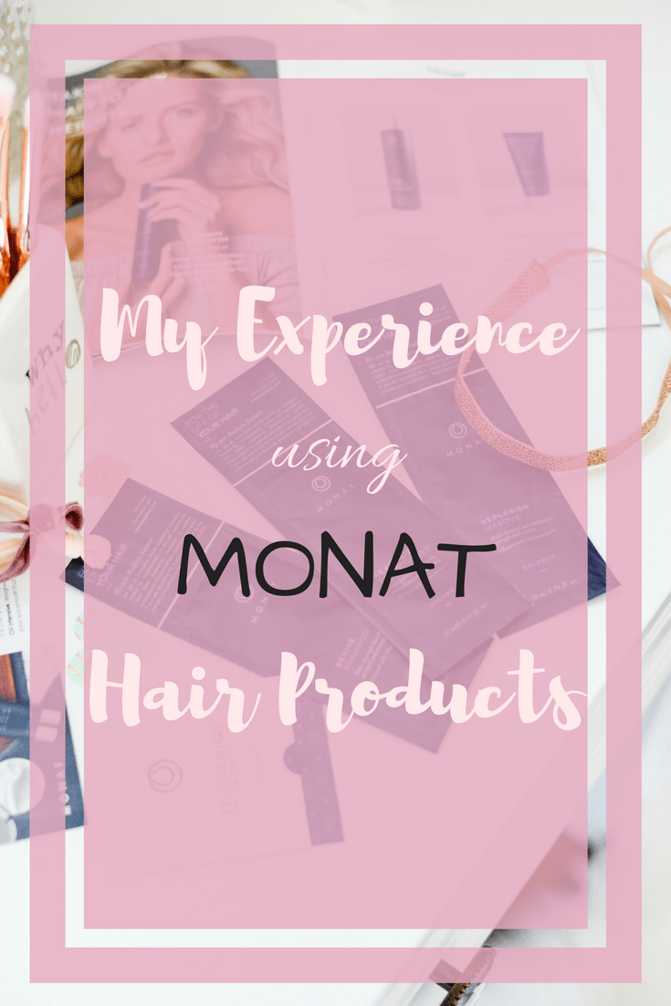 Monat review, hair product review, beauty blog