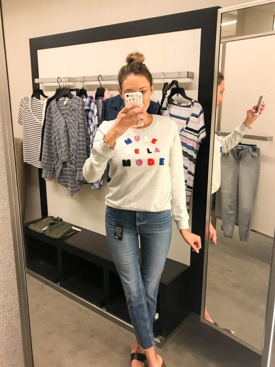 What I Bought from the 2018 Nordstrom Anniversary Sale- graphic sweatshirt