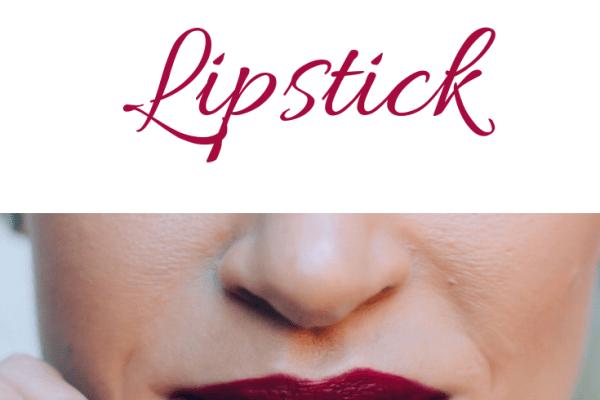 fall lipstick; glo skin beauty date night lipstick; holiday lipstick