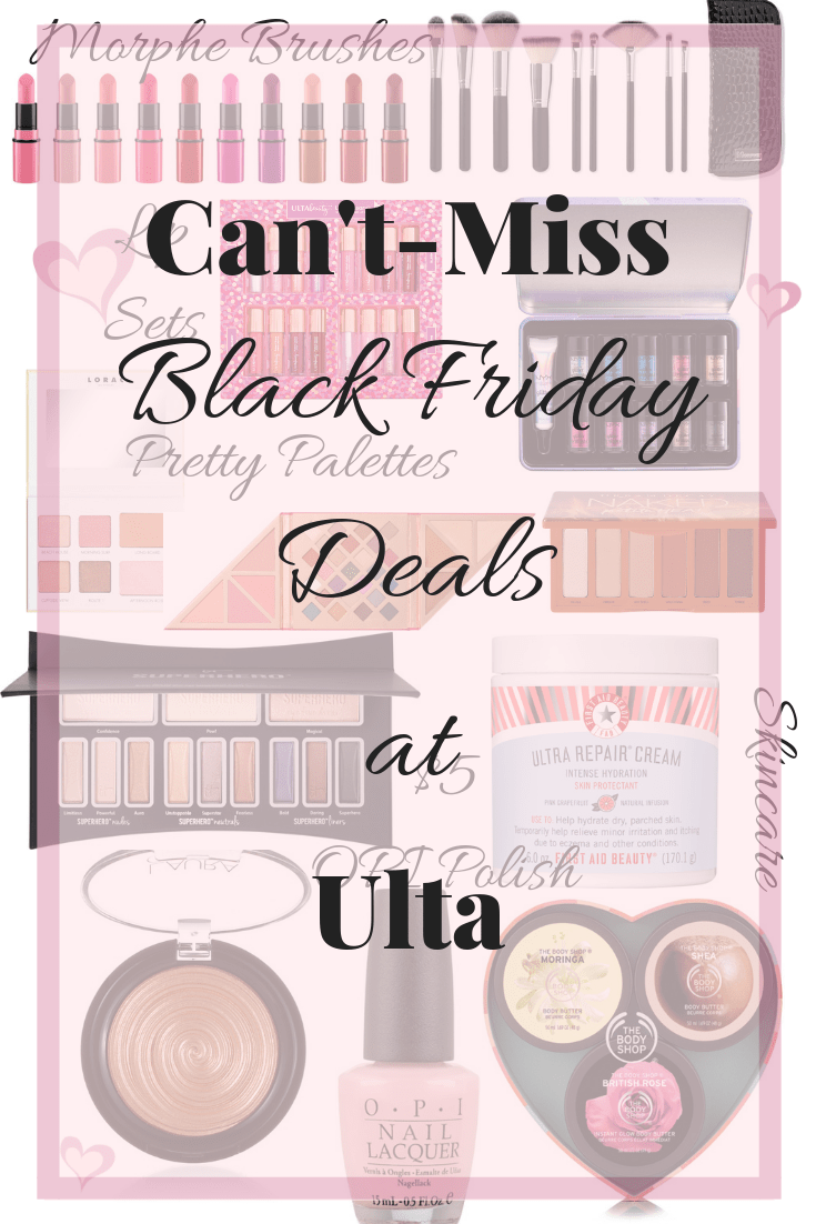 Can't-miss black friday deals at ulta