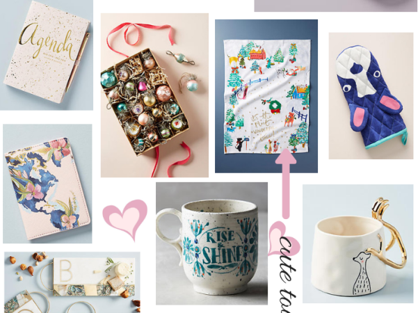 friday faves vol. 3 home gifts 20% off; anthropologie home
