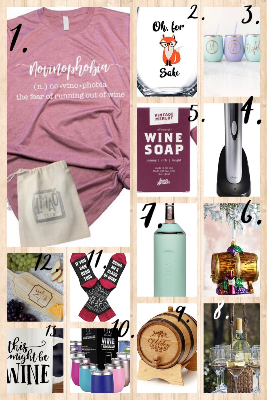 13 Unique Gifts for Wine Lovers- unisex, gender-neutral gift ideas