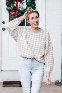 Winter sweater from H&M under $20
