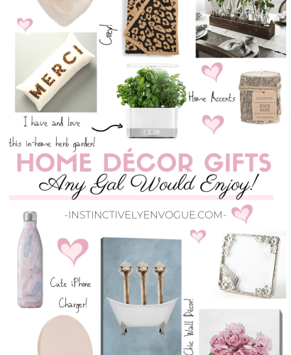 Easy home decor gifts for any time of the year