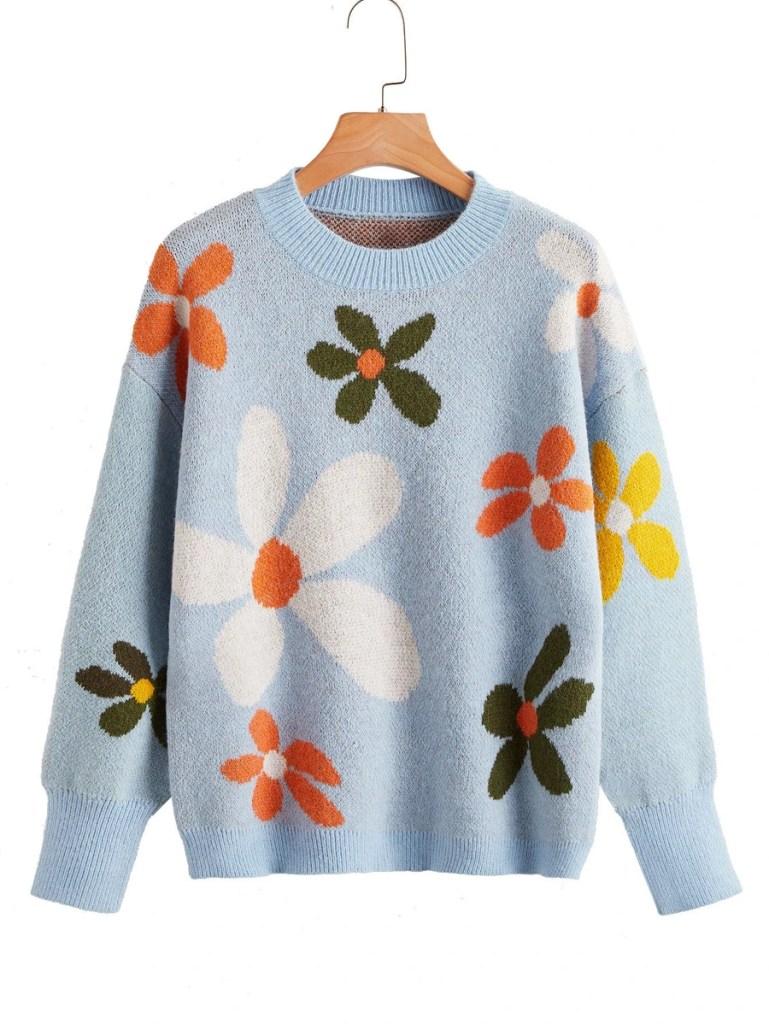 fall fashion trends: flower print