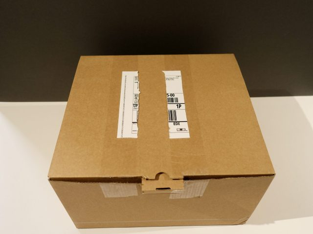 First view of SimpliSafe outer packaging