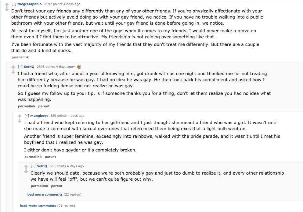 gay dating reddit