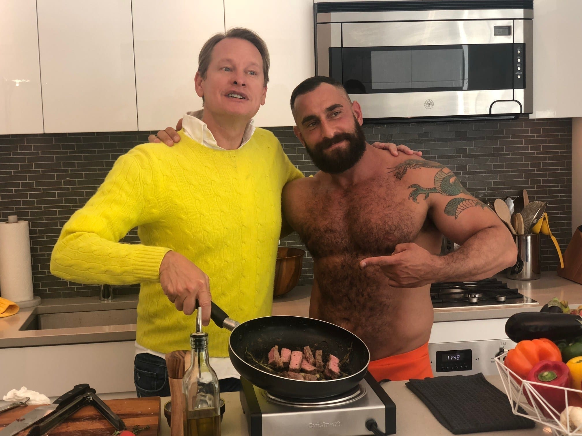 TRAILER: The Bear-Naked Chef is taking his cooking show on