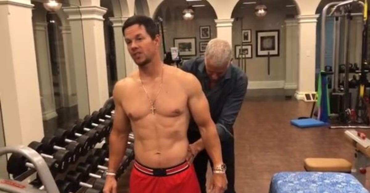 Mark Wahlberg Details His Insane Daily Routine That Includes