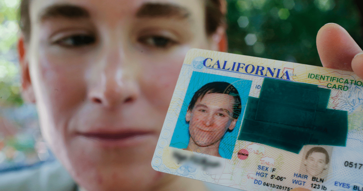 On 54 Licenses Seek Gender 000 Instinct Change Ids Magazine • California Driver And To Over