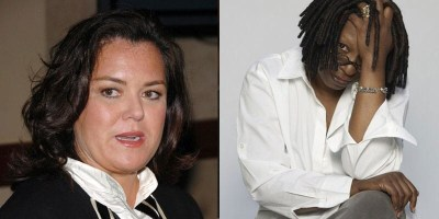 Rosie O'Donnell & Whoopi Goldberg of 'The View'