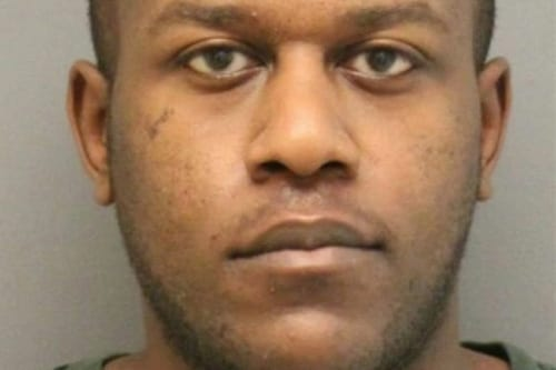 Kwame Anderson (mugshot courtesy of Newport News Police)