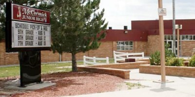 McCormick Junior High School in Cheyenne, Wyoming (image via school district)