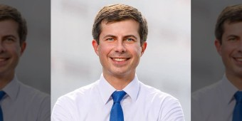 Mayor Pete Buttigieg of South Bend, Indiana (image via Facebook)