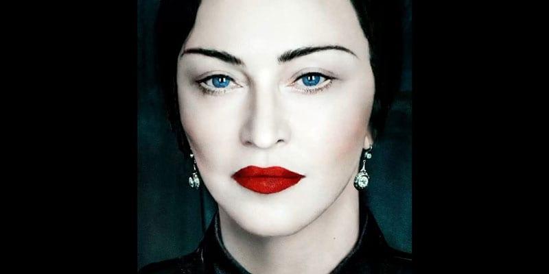 "Madonna dropped her new single, ""Medellín,"" featuring Maluma (image via Instagram)"