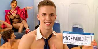 Broadway Bares 2019 takes off on June 16 (screen capture)