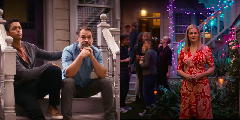 Murray Bartlett and Laura Linney on 'Tales of the City'