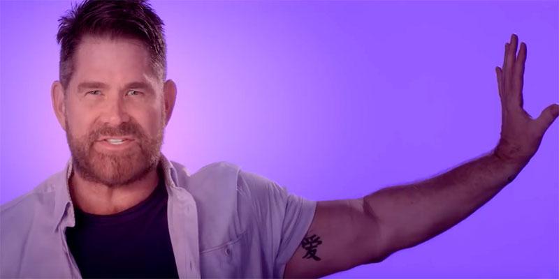 """Matt Zarley in the music video """"You Gotta Be"""""""