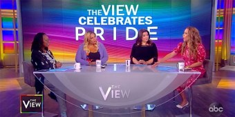 The ladies of The View discuss Pride Mont