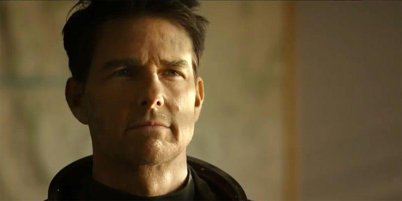 "Tom Cruise is back as Pete ""Maverick"" Mitchell in Top Gun: Maverick"