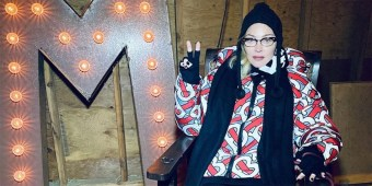 Due to 'overwhelming' pain, Madonna has been forced to cancel her Boston shows (image via Instagram)