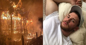 The home of adult performer Matthew Camp was set ablaze by an arsonist on January 14, 2021