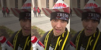 Gay Trump supporter says he fears for his life after taking part in Capitol invasion