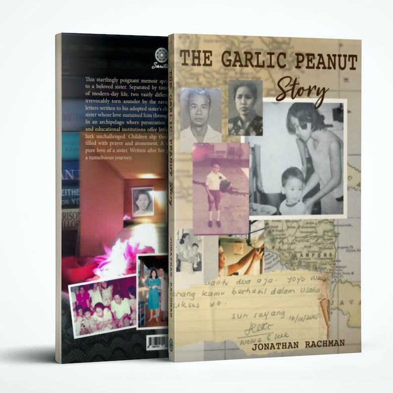 Cover image of 'The Garlic Peanut Story'
