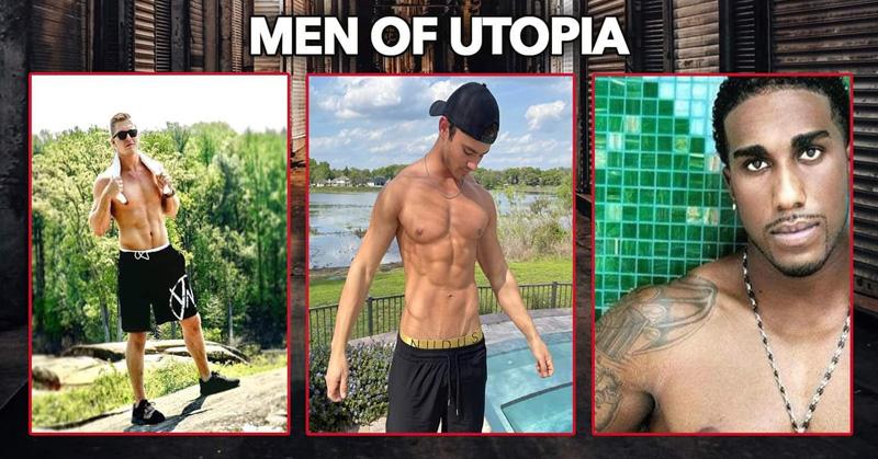 Ad for Men of Utopia all-male revue