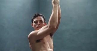 Anthony Ramos in a spot for Calvin Klein underwear