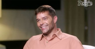 Ricky Martin talks to PEOPLE for the magazine's annual Pride Issue