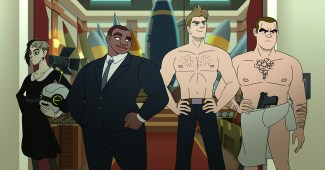 Netflix's new queer secret agent animated series Q-FORCE