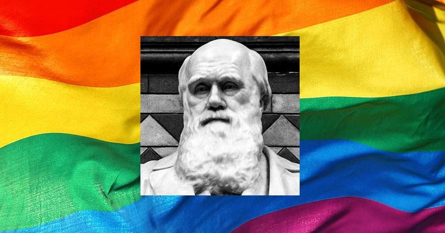 Charles Darwin would be proud of LGBTQs leading the way on vaccinations