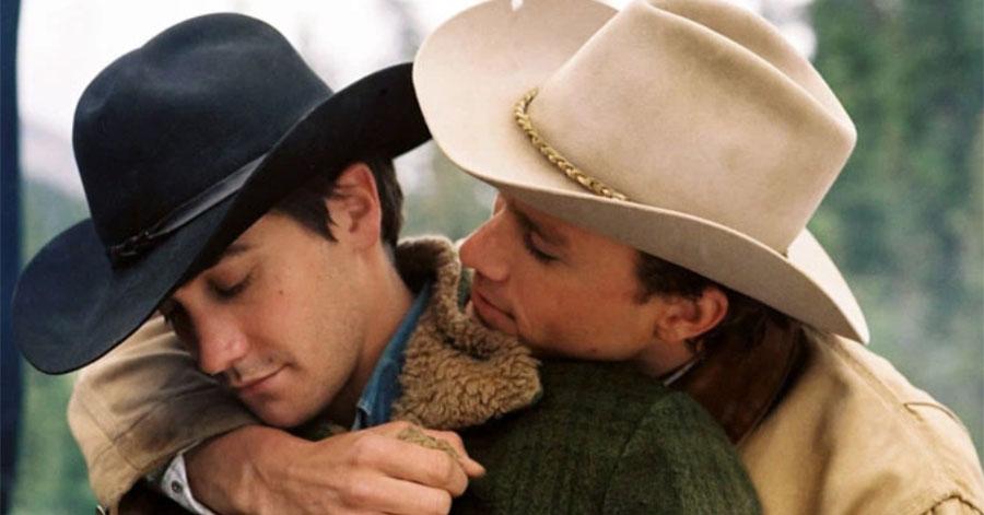Jake Gyllenhaal and Heath Ledger in 'Brokeback Mountain'