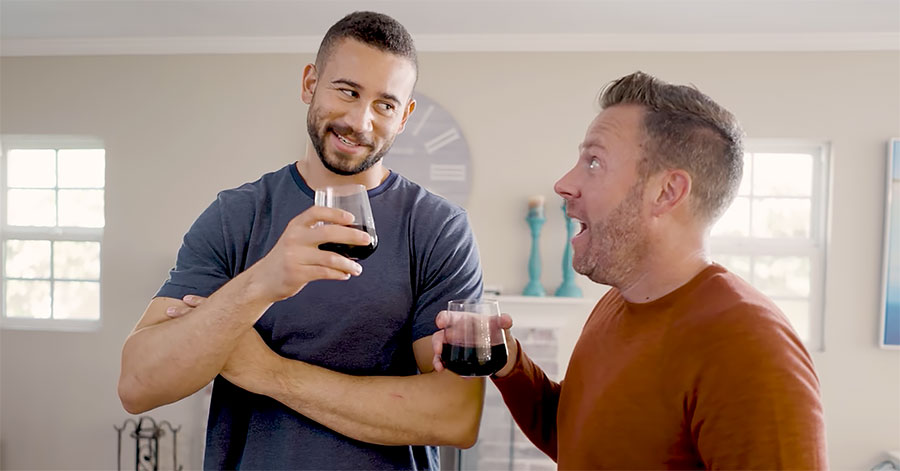 """Doug Rogers and Artie O'Daly in """"Bad Boyfriend"""""""