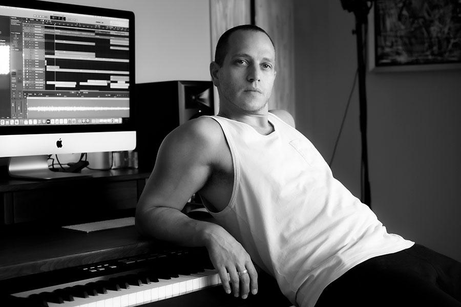 Out recording artist Michael Lazar