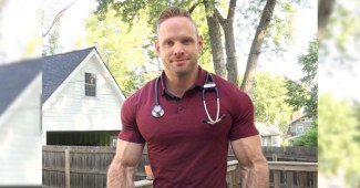 Jake Jacob reflected on his journey to becoming a physician (why don't our docs ever look like this?)